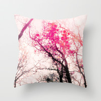Tree Silhouette 2 Throw Pillow by Olivia Joy StClaire