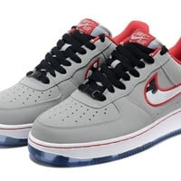 Nike Air Force 1 AF1 Grey Camouflage For Women Men Running Sport Casual Shoes Sneakers