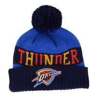 Oklahoma City Thunder NBA Sharp Pom Knit