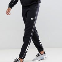 adidas Originals Authentic Joggers In Black DH3857 at asos.com