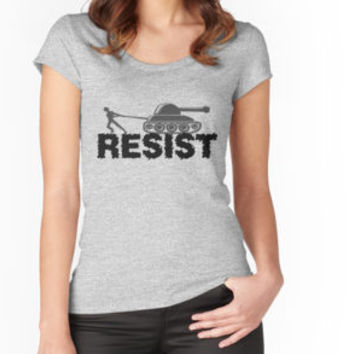 'RESIST Anti-War Protest' Classic T-Shirt by potseed21