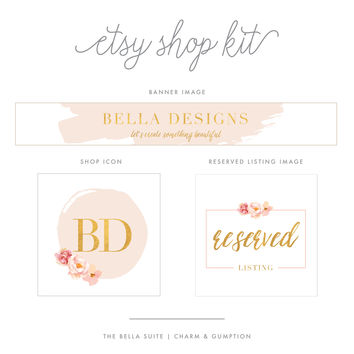 Etsy Shop Kit | Bella