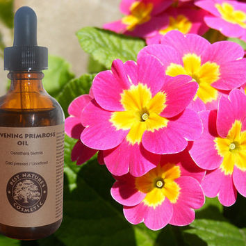 Evening Primrose - (Virgin, Cold Pressed, Undiluted, Unrefined) for tired skin and eyes