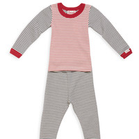 Multi Stripe Pajama Set