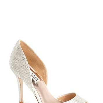 Women's Badgley Mischka 'Mitzi' Satin d'Orsay