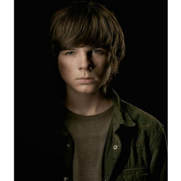 "The Walking Dead Chandler Riggs ""Carl"" #1 Fan T-shirt"