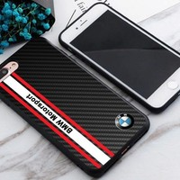 BMW Logo Motorsport Stripe Best Case For iPhone 6 6s 6+ 6s+ 7 7+ 8 8+ X Cover