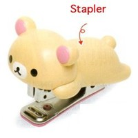 "San-X Rilakkuma 3"" Stapler: Little Bear"