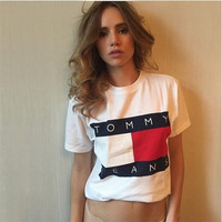 FASHION BRAND NEW WOMEN'S SHORT SLEEVE T-SHIRT HOT SALE