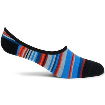 Transitional Stripes 2 No Show Sock