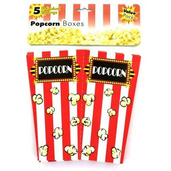 Individual Serving Popcorn Boxes ( Case of 48 )