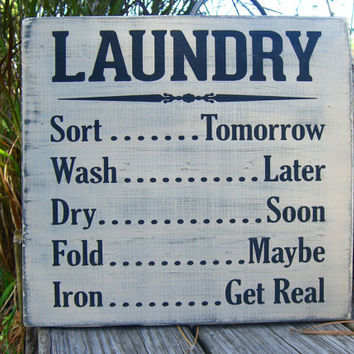 Laundry Room Sign,Laundry Room Decor,Laundry List,Cottage Chic Decor,Rustic Laundry Sign,Gifts for Her,Gifts for Mom,Housewarming Gift,