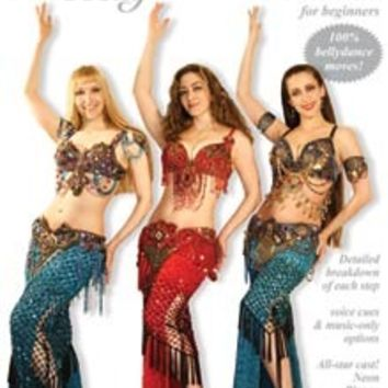 """""""Luscious: The Belly Dance Workout for Beginners"""" DVD with Neon"""