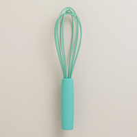 Aqua Silicone Whisk - World Market