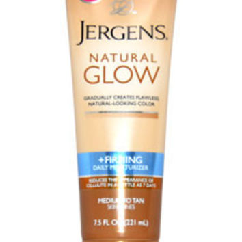 Natural Glow Revitalizing Daily Moisturizer for Medium Tan Skin Tones Moisturizer Jergens