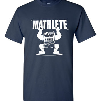 Mathlete Geek Math Club Fun Math T-Shirt Great Gift Idea for Math Fans Teachers Math Tshirt Kids Mens Ladies