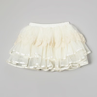 Ivory Tulle Pettiskirt - Infant, Toddler & Girls | something special every day