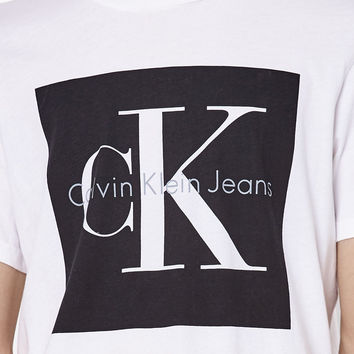 Calvin Klein For PacSun Jeans Box Graphic T-Shirt at PacSun.com
