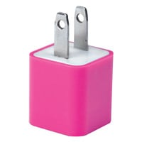 Iessentials Iphone And Ipod And Smartphone Usb Home Charger (pink)