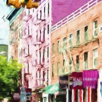 NYC Urban Scene III - In the Style of Oil Painting Giclee Print by Philippe Hugonnard | the NEW Art.com