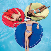 Cool Touch Jumbo Round Pool Float at Brookstone—Buy Now!