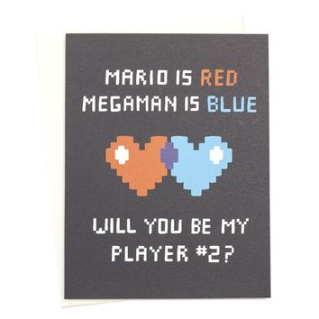 Gamer Love Card