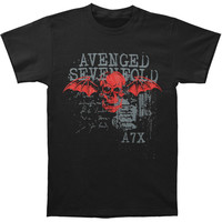Avenged Sevenfold Men's  Sketchy T-shirt Black
