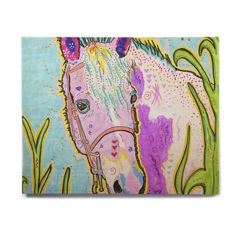 "Rebecca Fischer ""Nemo"" Horse Birchwood Wall Art"