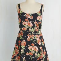 ModCloth Short Length Sleeveless A-line Zeal With a Kiss Dress
