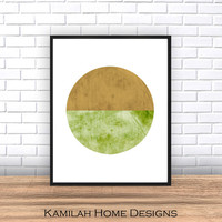 Watercolor print, Abstract art, Minimalist print, Abstract print, Abstract watercolor, home decor, wall art, minimalist art,Circles art