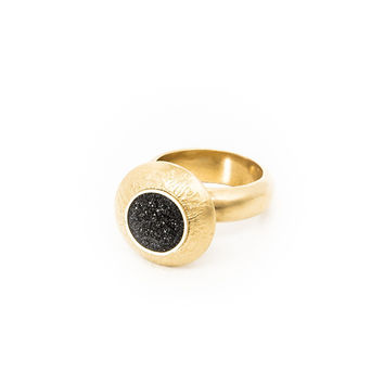 Large Gold Dome Ring - Similar to Cartier