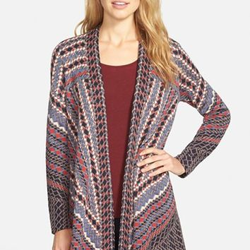 Women's NIC+ZOE 'Electric Patterns' Open Front Cardigan ,