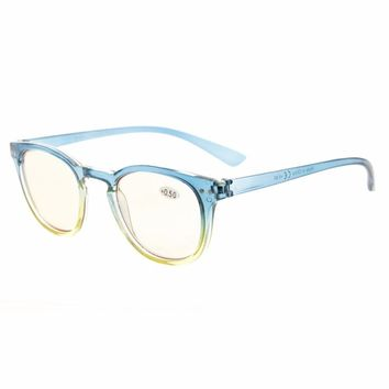 CG144 Eyekepper Blue Light Blocking Eyeglasses Digital Eye Strain Prevention Womens Computer Reading Glasses +0.50~+4.00
