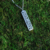 Music Cutout Necklace