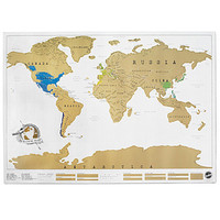 SCRATCH MAP | Scratch off World Map | UncommonGoods