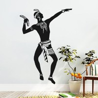 Africa Wall Decals Indian Pattern Decal Vinyl Interior Design Home Art Decor MN942