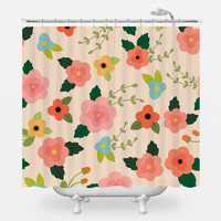 Lovely Lotus Shower Curtain