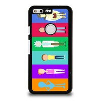 RICK AND MORTY CHARACTER Google Pixel Case Cover