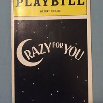Crazy For You Playbill