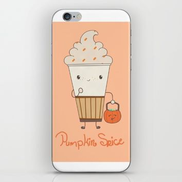 Pumpkin Spice! iPhone & iPod Skin by CuteFoods