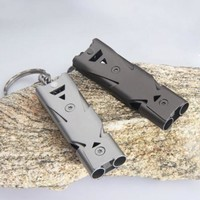 Emergency Stainless Steel Whistle