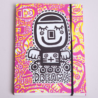 Dream journal, magenta , dreams, diary - pulp-shop.com - paper goods
