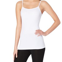 White Essential Solid Cami