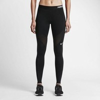 DCKKID4 Nike Pro Running Power Epic Lx Leggings With Mesh Panels