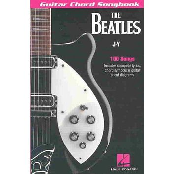 The Beatles Guitar Chord Songbook J-Y: 100 Songs