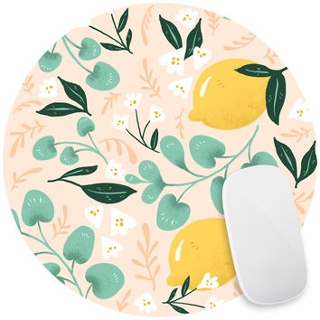 Lovely Lemons Mouse Pad Decal
