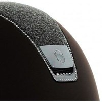 Samshield Shadow Matt Helmet Top Crystal Fabric with 255 Swarovski Crystals