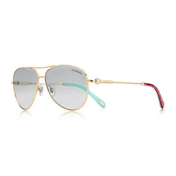 Tiffany & Co. - Ziegfeld Collection:Aviator Sunglasses