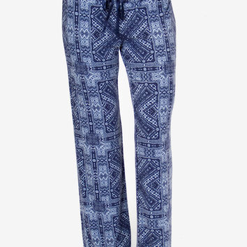 PJ Salvage Blue Batik Pant