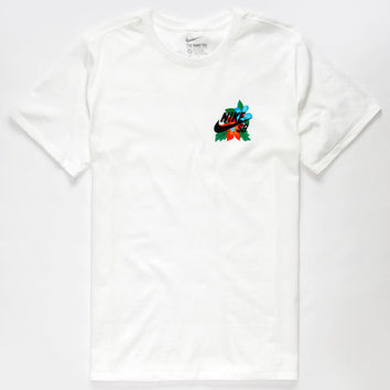 NIKE SB Colorful Floral Mens T-Shirt